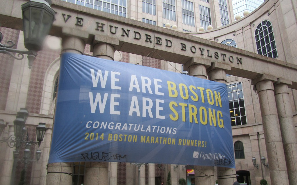 Periodismo de marca: Boston, we are strong