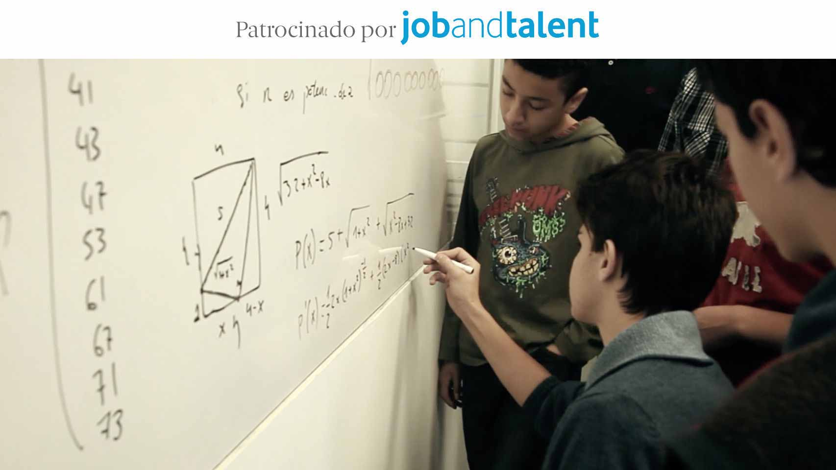 Matemáticos de 15 años. Branded content para Job and Talent.